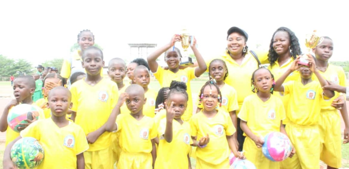 Top Rank Maiden Inter-house Sports Competition
